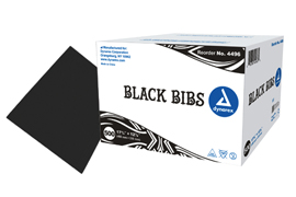 BLACK LAP CLOTH 2 PLY